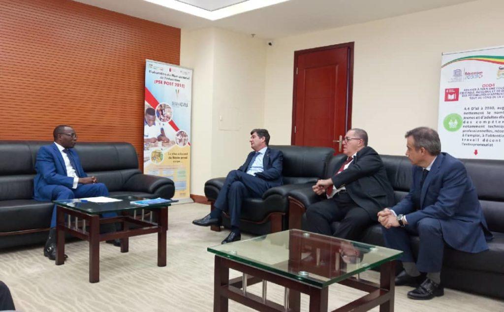 Cooperation Le Benin Et L Espagne Rechauffent Leur Lien Sur L Education Difference Info